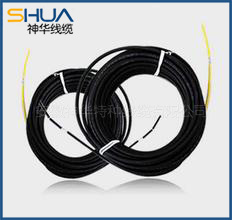Application of carbon fiber flexible electric wire