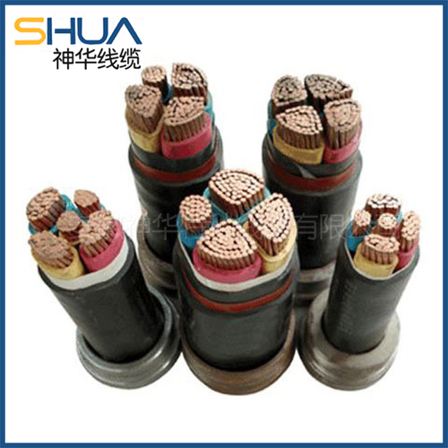 Low smoke halogen free flame retardant control cable