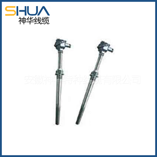 Wear resistance leakage thermocouple